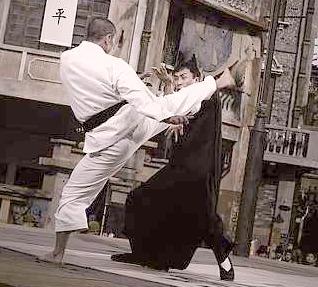 Kung-Fu Karate Practice